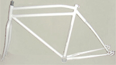 "26""men steel beach frame and fork"
