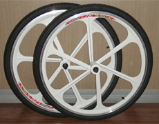 one piece alloy wheel sets