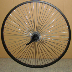 "26""72H rear wheel sets"
