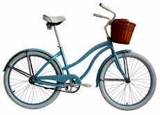 "26"" alloy woman beach cruiser bicycle"