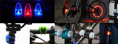 bicycle frog led light