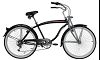 "26""Shimano 6 Speed Beach Cruiser Bicycle ARS-2662S"