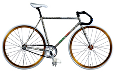 700C Cr-mo fixed gear bicycle