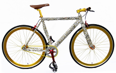 New fixed gear bicycle