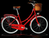 alloy 3 speed dutch bike