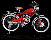 motor beach cruiser bicycle