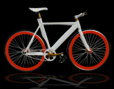 alloy fixed gear bike