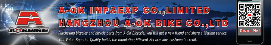WELCOME TO HANGZHOU A-OK BIKE CO.,LTD